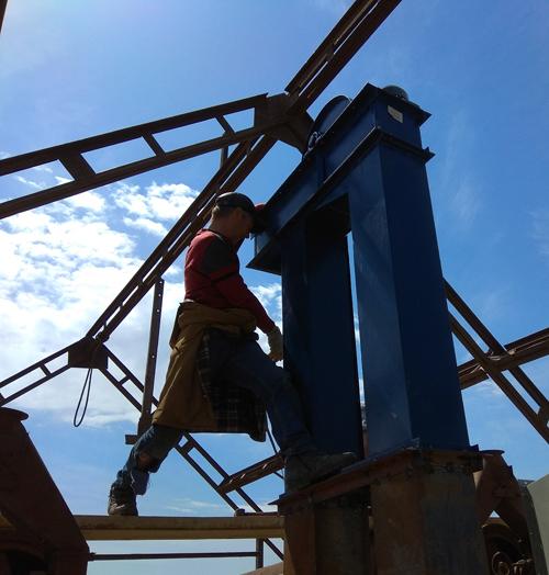 Монтаж зерноочистительного оборудования