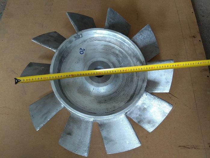 Крыльчатка алюминиевая СВМ-6