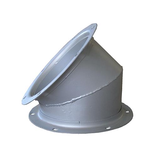 Сектор Ф220х36 гр. толщ 4 мм