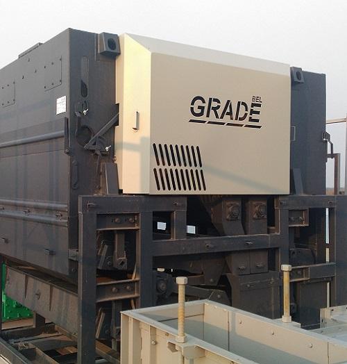Монтаж сепаратора зерноочистительного УС-40С