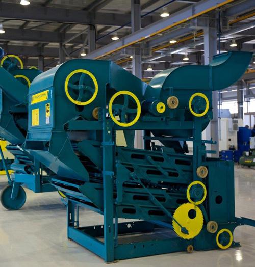 Зерноочистительная машина ОВС-25 стационарная