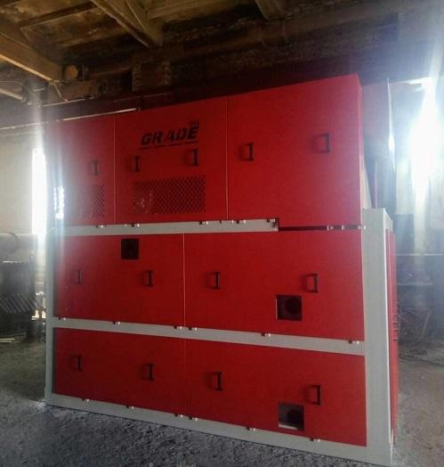 Монтаж зерноочистительного сепаратора УС-130